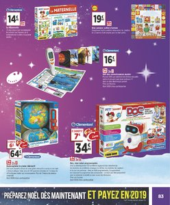 Catalogue Géant Casino Noël 2018 page 83
