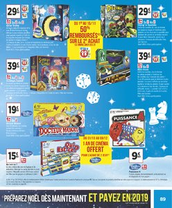 Catalogue Géant Casino Noël 2018 page 89