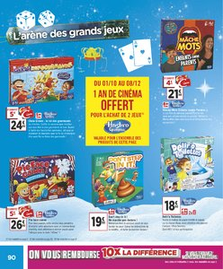 Catalogue Géant Casino Noël 2018 page 90
