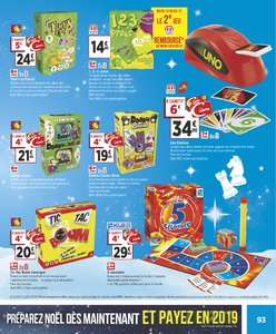 Catalogue Géant Casino Noël 2018 page 93
