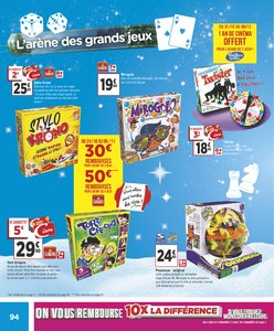Catalogue Géant Casino Noël 2018 page 94