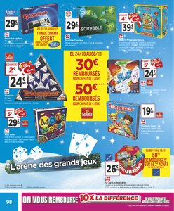 Catalogue Géant Casino Noël 2018 page 98