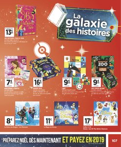 Catalogue Géant Casino Noël 2018 page 107