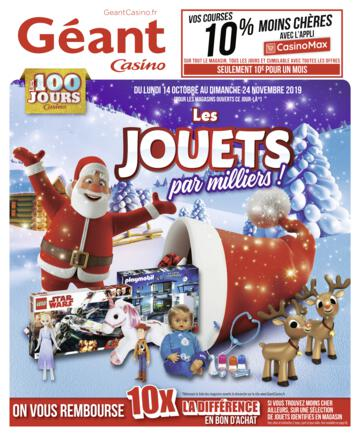 Catalogue Géant Casino Noël 2019