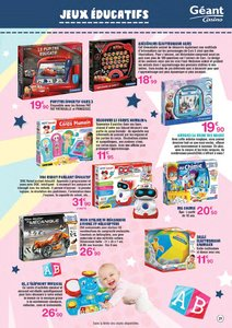 Catalogue Géant Casino Martinique Noël 2017 page 21
