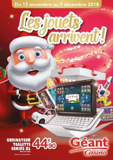 Catalogue Géant Casino Martinique Noël 2018