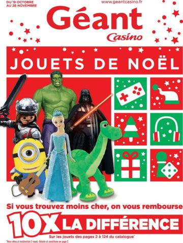 Catalogue Géant Casino Noël 2015