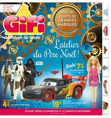 Catalogue GiFi Noël 2017