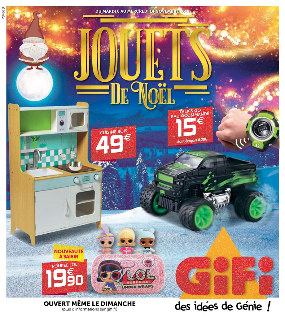 Catalogue Gifi Noel 2018 Catalogue De Jouets