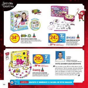Catalogue Hyper U Noël 2017 page 102