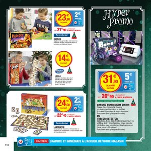 Catalogue Hyper U Noël 2017 page 110