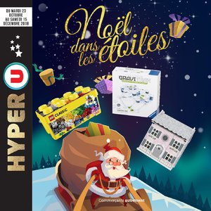 Catalogue Hyper U Noël 2018 page 1