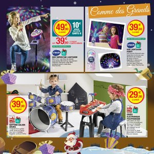 Catalogue Hyper U Noël 2018 page 45