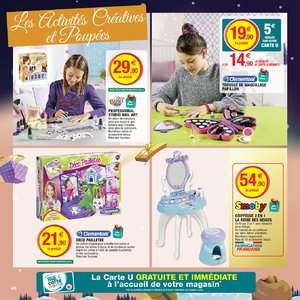 Catalogue Hyper U Noël 2018 page 46