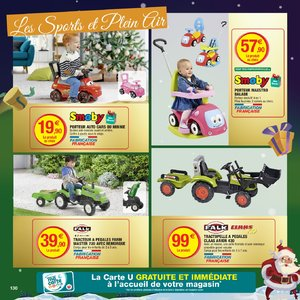Catalogue Hyper U Noël 2018 page 130