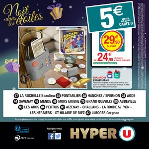 Catalogue Hyper U Noël 2018 page 160
