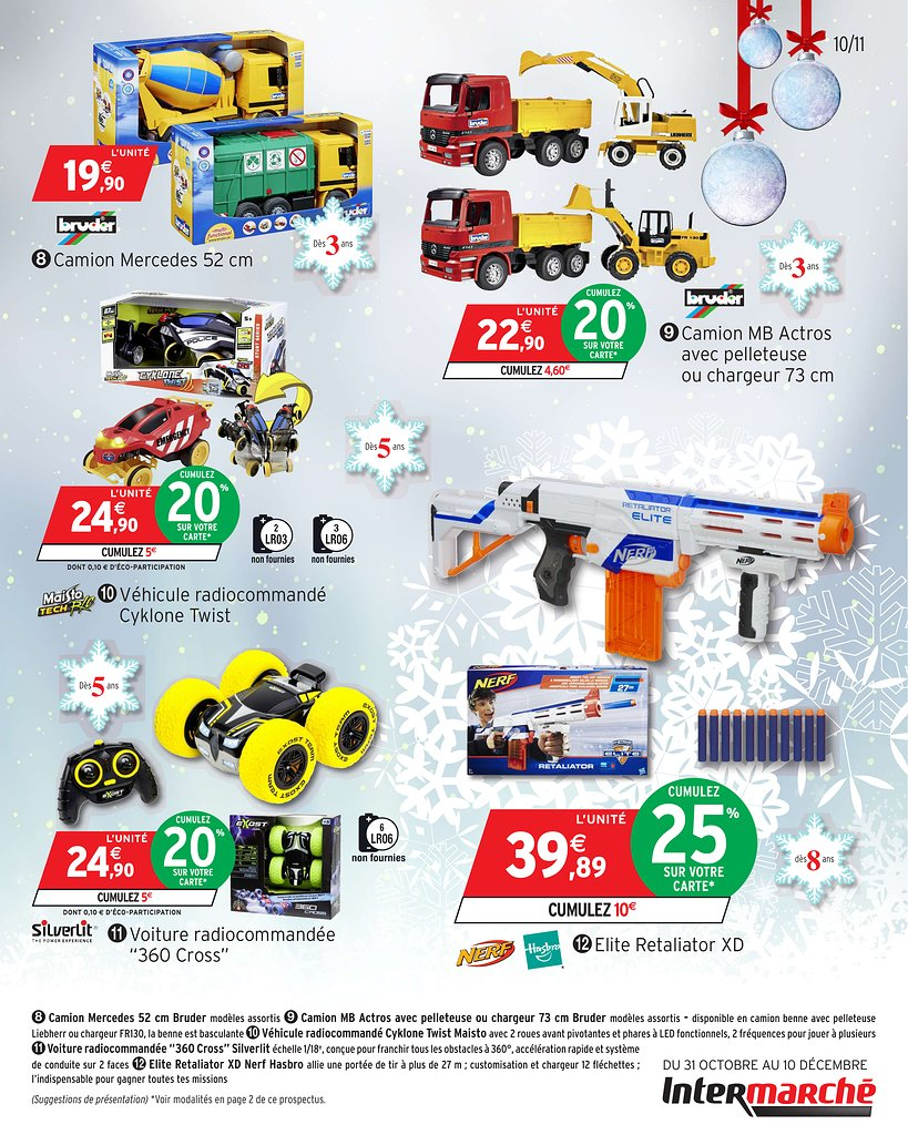Catalogue Supermarché Intermarché Noël 2017 Catalogue De Jouets