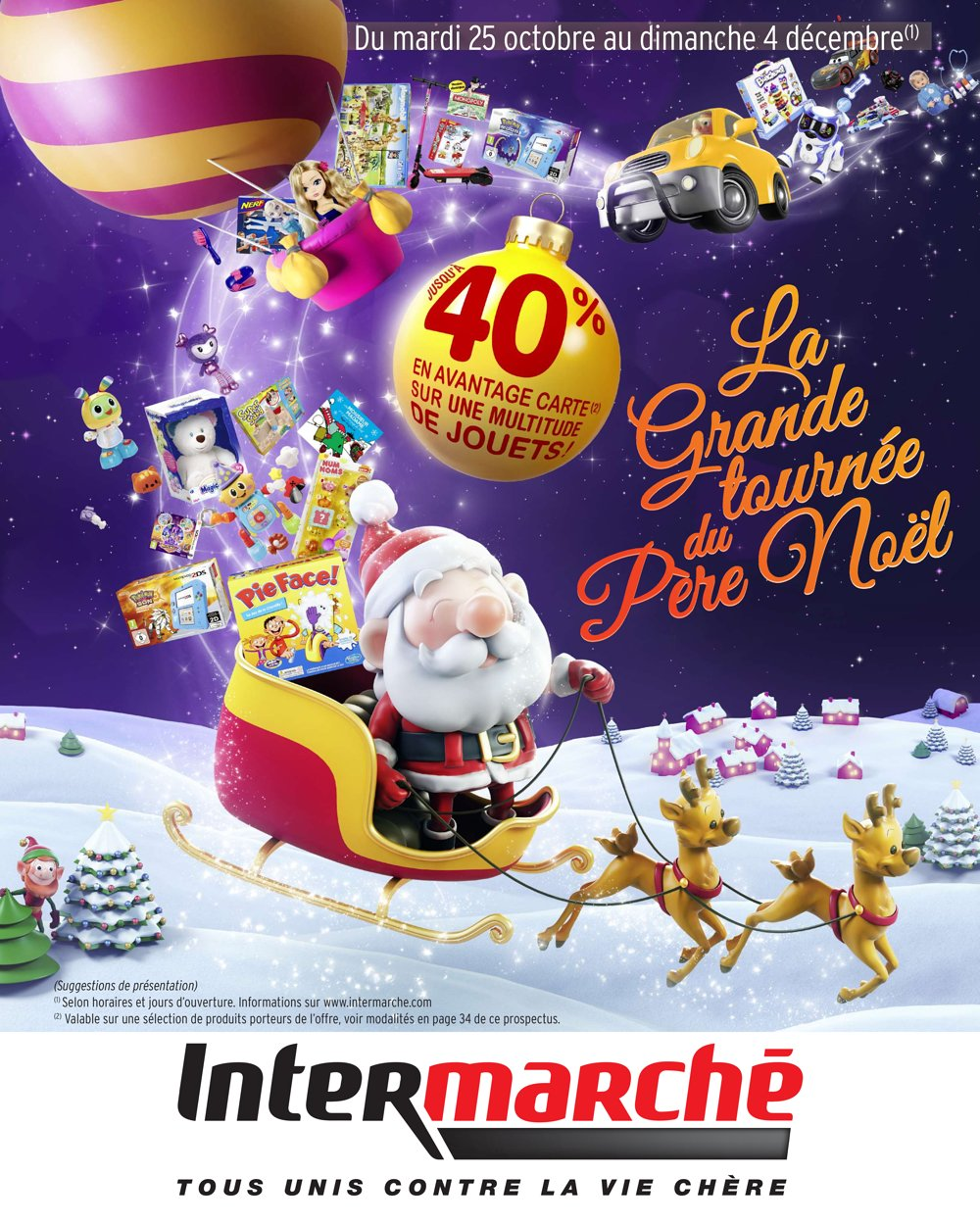 catalogue intermarch hyper no l 2016 catalogue de jouets. Black Bedroom Furniture Sets. Home Design Ideas