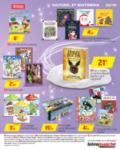 Catalogue Intermarché Hyper Noël 2016 page 39
