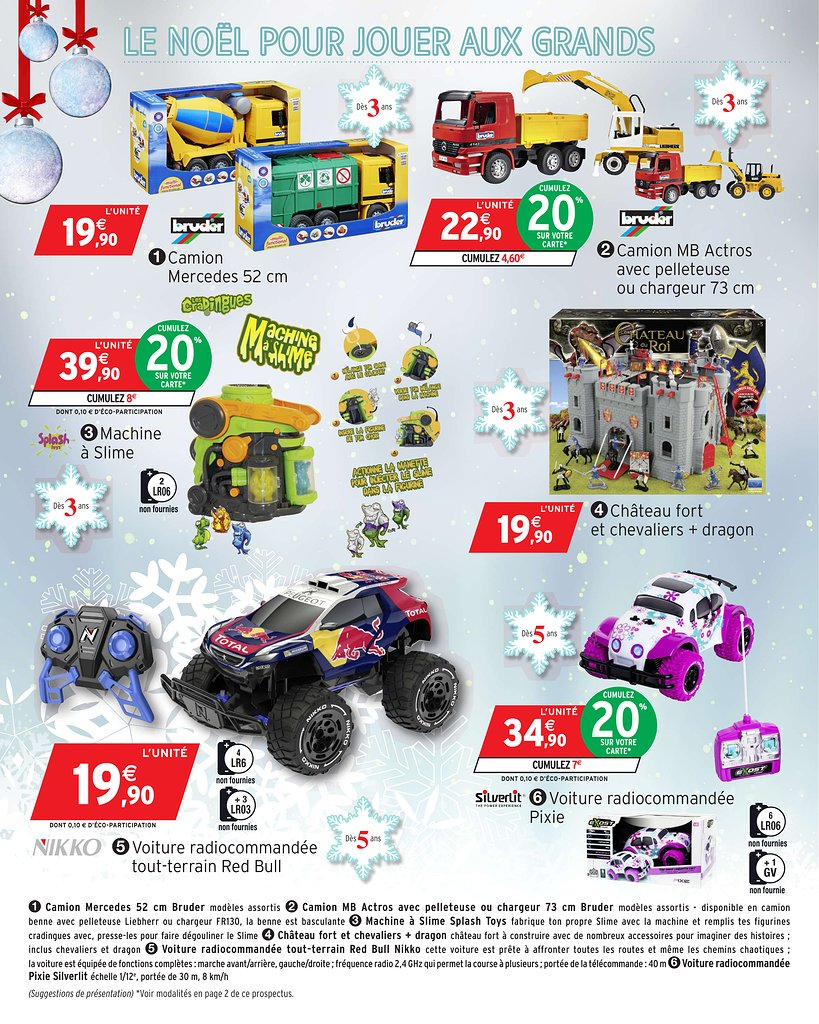 Catalogue Hypermarché Intermarché Noël 2017 Catalogue De Jouets
