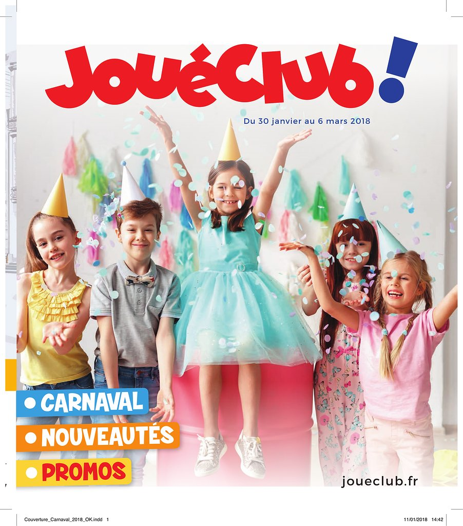 catalogue jouéclub noel 2018 pdf Catalogue JouéClub Carnaval 2018 | Catalogue de jouets catalogue jouéclub noel 2018 pdf