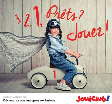 Catalogue JouéClub Marques Expertes 2018