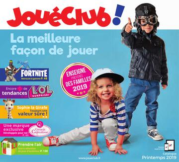 Catalogue JouéClub printemps 2019