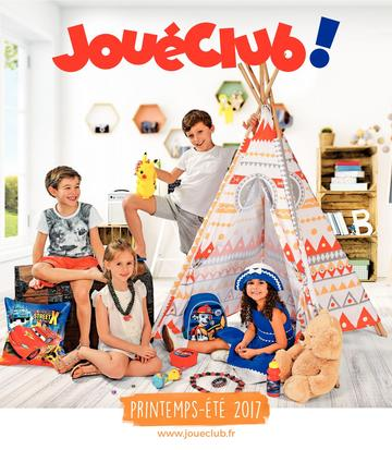 Catalogue JouéClub printemps-été 2017