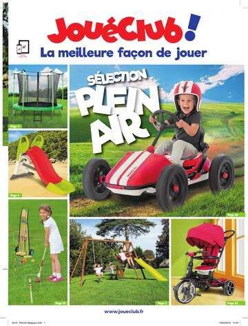 Catalogue JouéClub Sélection Plein Air 2019