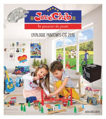 Catalogue JouéClub printemps-été 2016