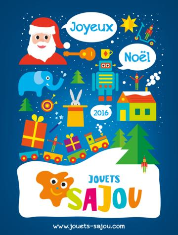 Catalogue Jouets Sajou Noël 2016