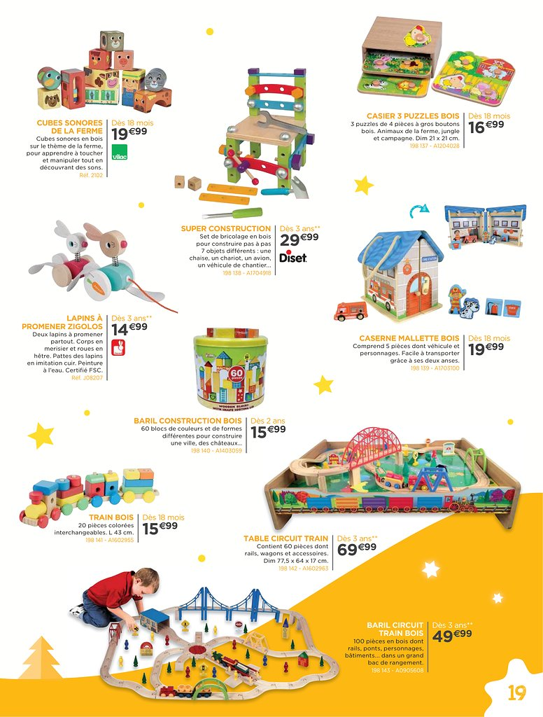 Catalogue 2017De Jouets Sajou Catalogue Noël EH9ID2