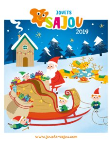 Catalogue Jouets Sajou Noël 2019 page 1