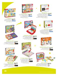 Catalogue Jouets Sajou Noël 2019 page 20