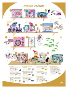 Catalogue Jouets Sajou Noël 2019 page 27
