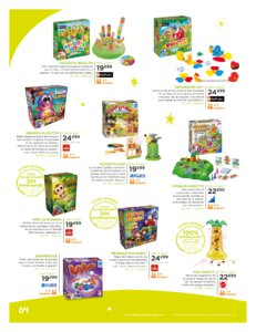 Catalogue Jouets Sajou Noël 2019 page 64