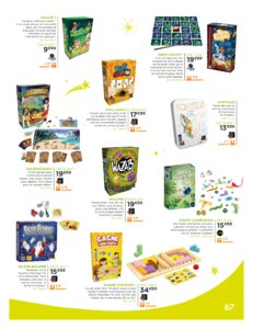 Catalogue Jouets Sajou Noël 2019 page 67