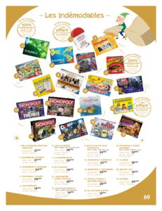 Catalogue Jouets Sajou Noël 2019 page 69