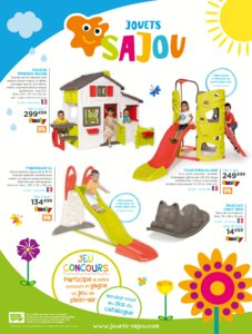 Catalogue Jouets Sajou Printemps 2017 page 1