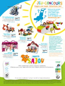 Catalogue Jouets Sajou Printemps 2017 page 16