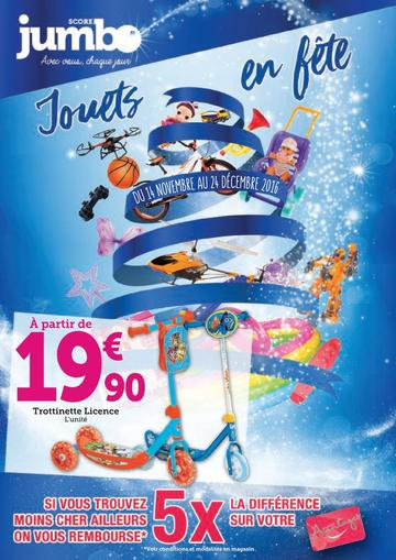 Catalogue Jumbo Score La Réunion Noël 2016