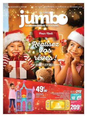 Catalogue Jumbo Score La Réunion Noël 2019