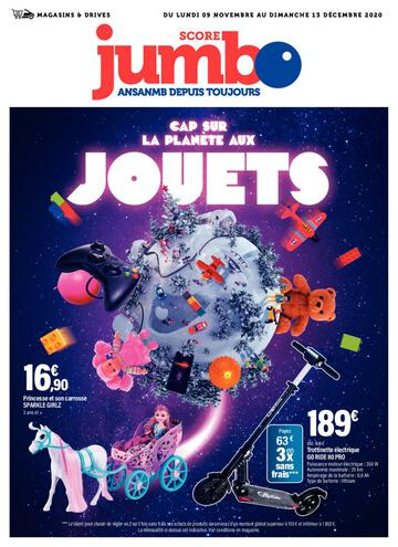 Catalogue Jumbo Score La Réunion Noël 2020
