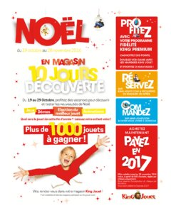 Catalogue King Jouet Noël 2016 page 3