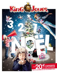 Catalogue King Jouet Noël 2015 page 1