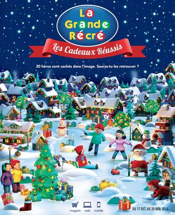 Catalogue La Grande Récré Noël 2016