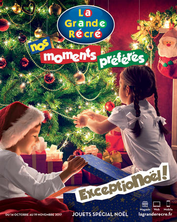 Catalogue La Grande Récré Noël 2017
