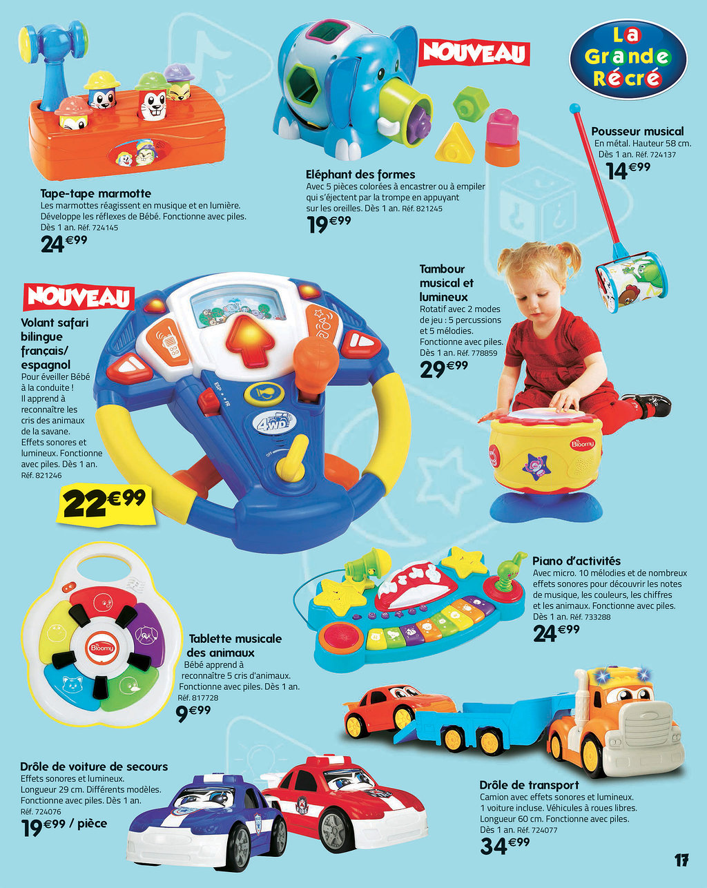 Catalogue La Grande Récré Noël 2017 Catalogue de jouets b7c00d74dfde