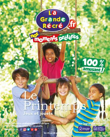 Catalogue La Grande Récré Printemps 2019
