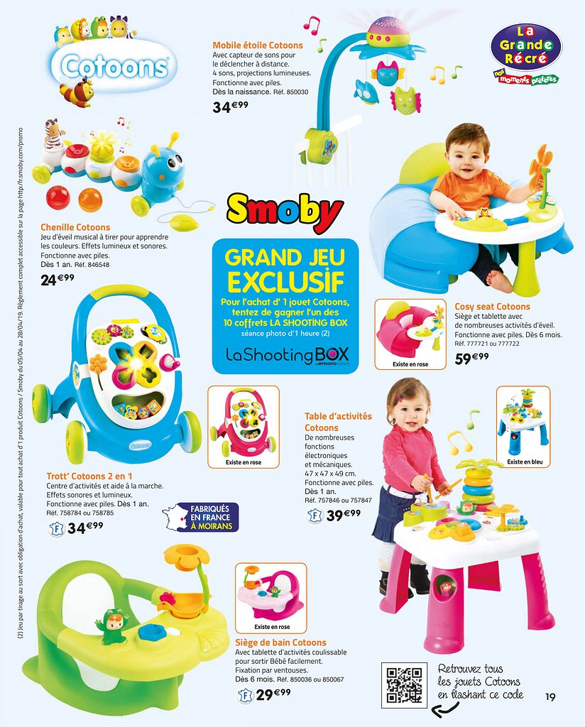 Catalogue La Grande Récré Noël 2019 | Catalogue de jouets
